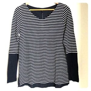 Just IN! NYDJ Striped Long Sleeve Top
